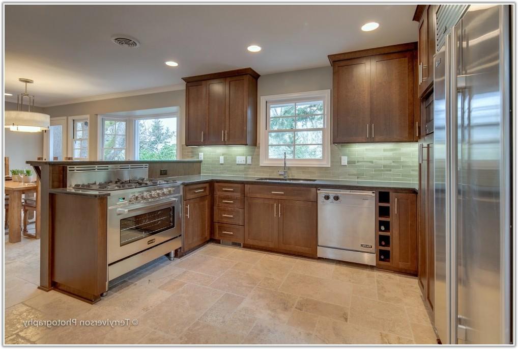Travertine Tile Kitchen Floor Photos