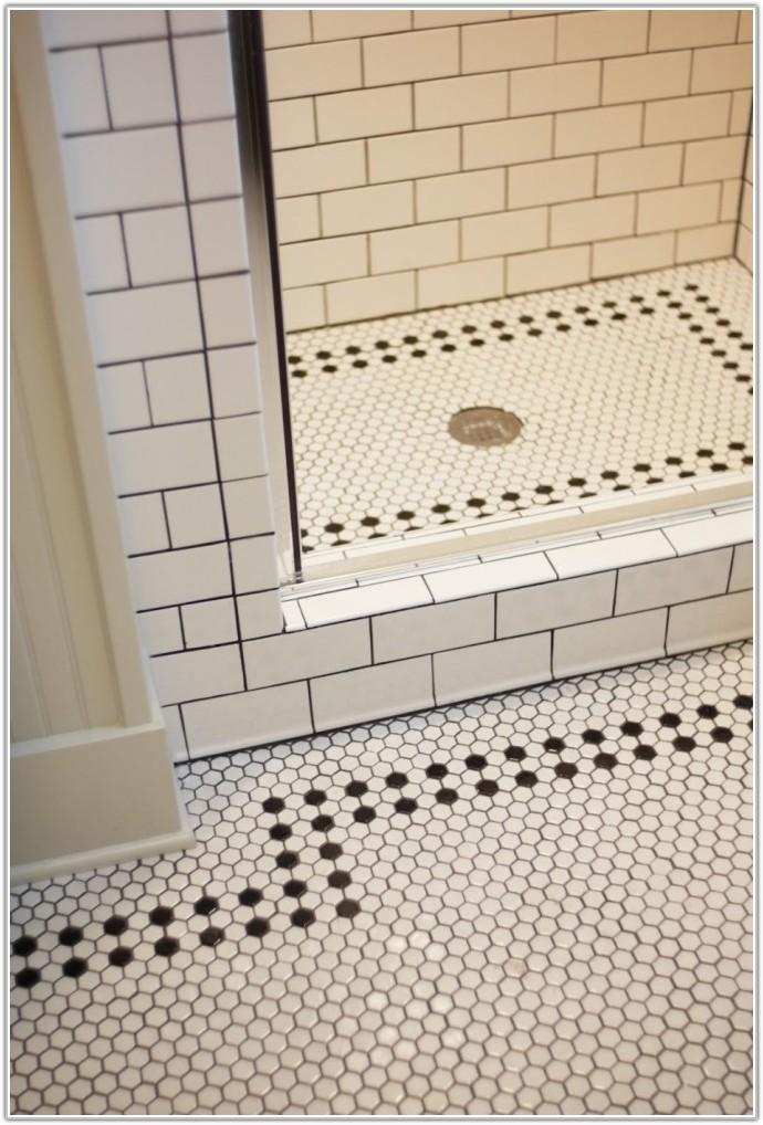 Vintage Ceramic Bathroom Floor Tile
