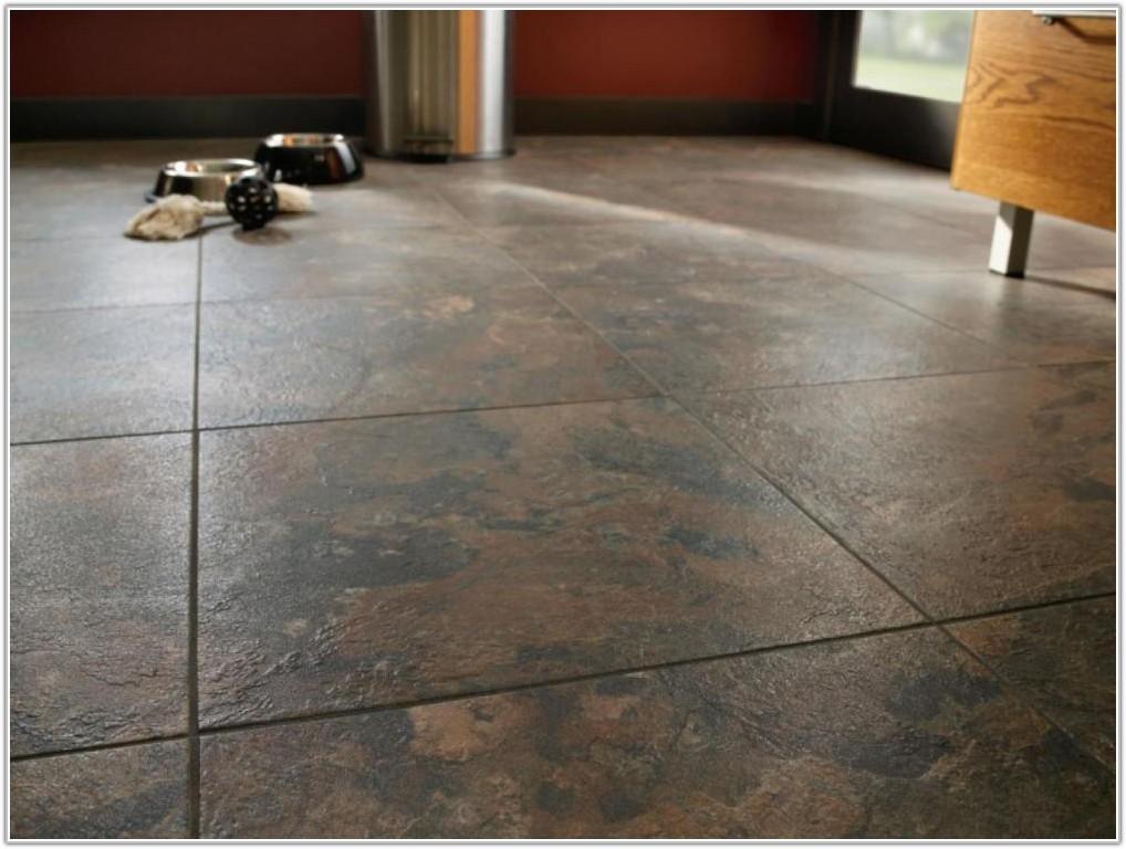 Vinyl Tile On Concrete Basement Floor