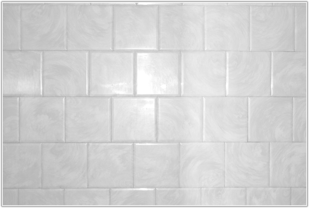 White Bathroom Wall Tile Texture