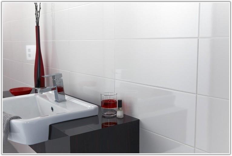 White Gloss Bathroom Wall Tiles