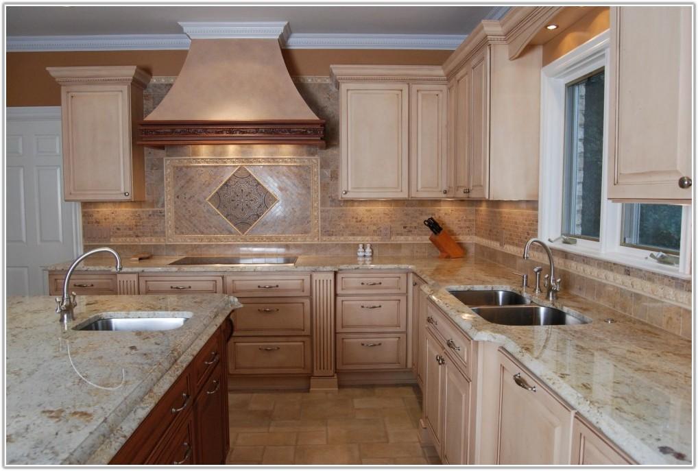 White Gloss Kitchen Floor Tiles