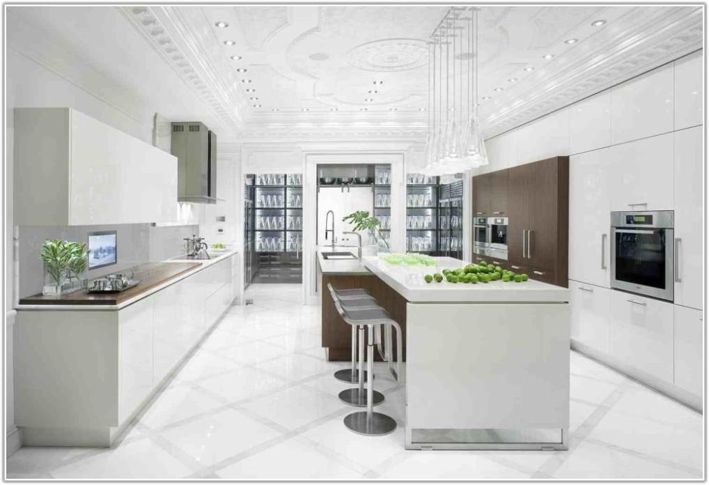 White Kitchen Floor Tile Ideas