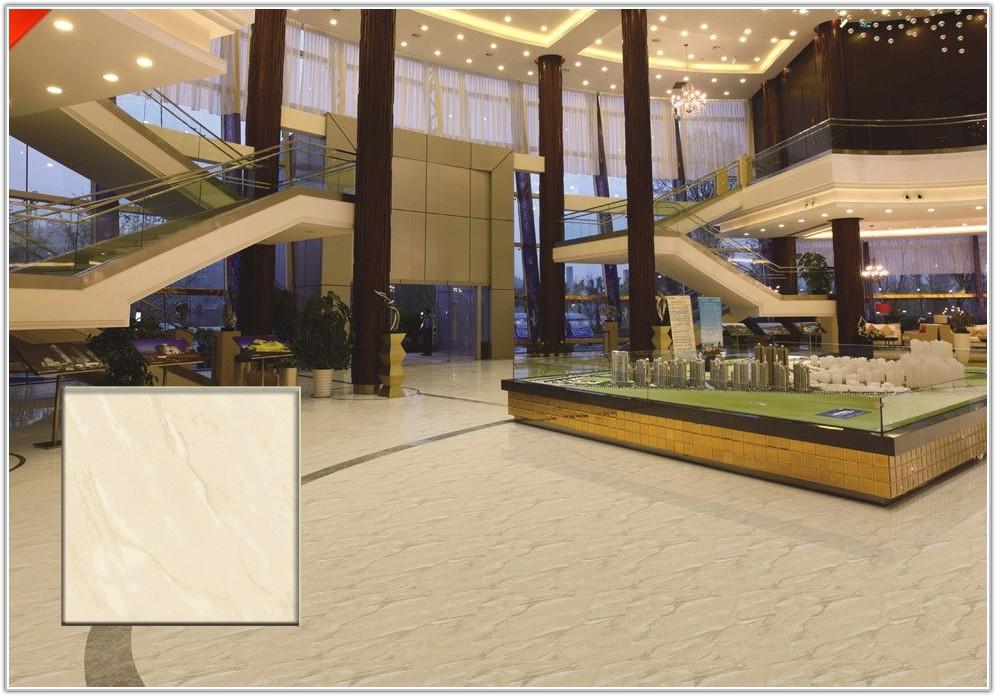 White Polished Porcelain Floor Tiles 600x600