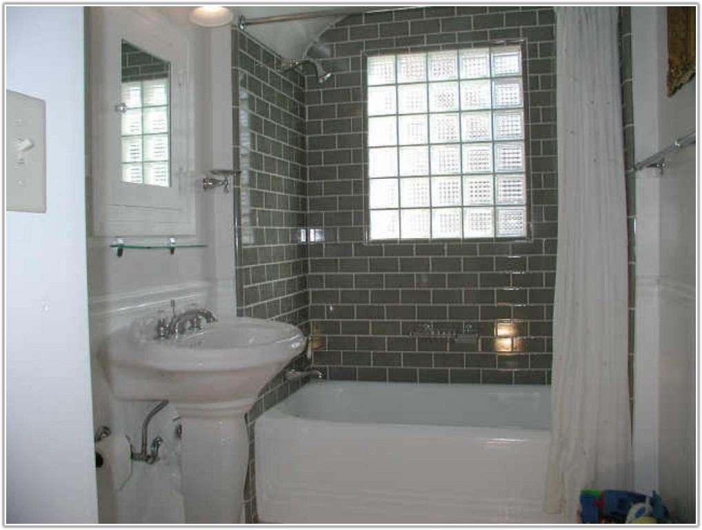 White Subway Tile Bathroom Designs