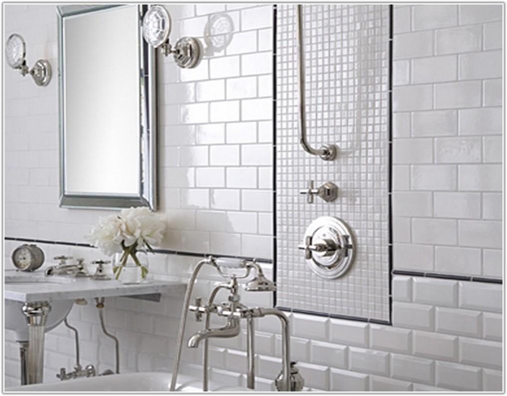 White Tile Ideas For Bathroom