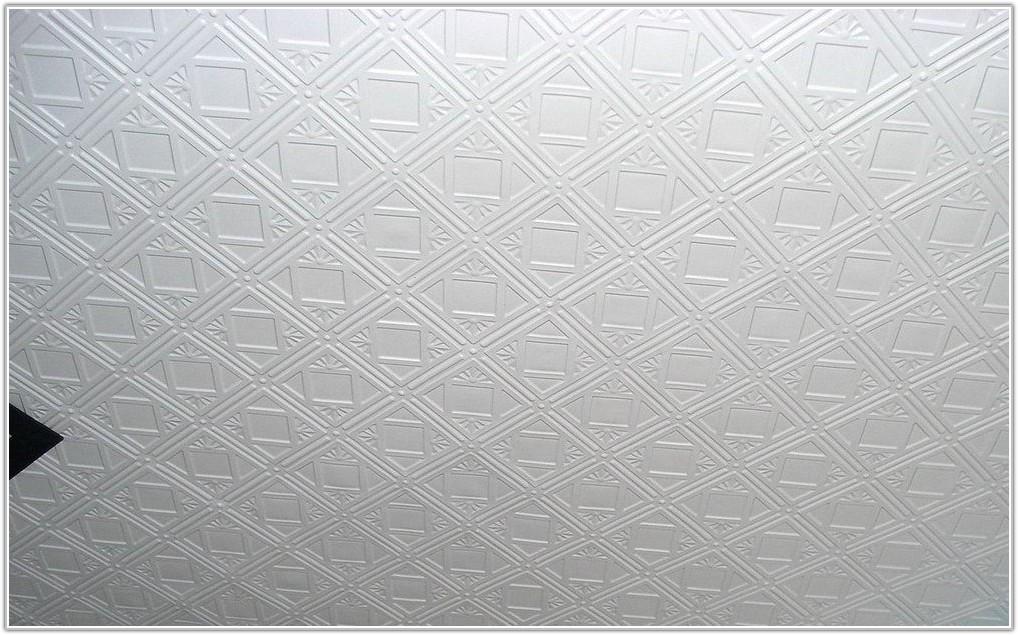 White Tin Ceiling Tiles Home Depot