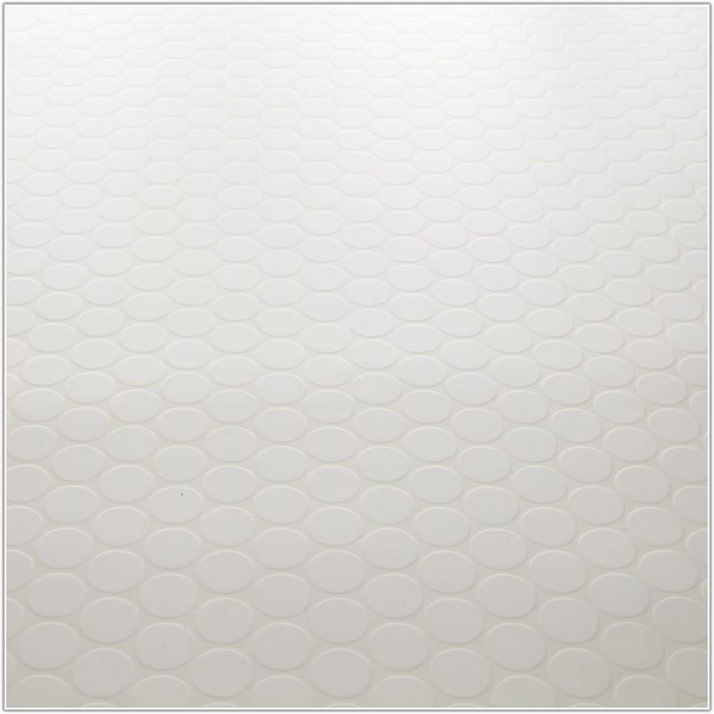 White Vinyl Flooring Tile Effect