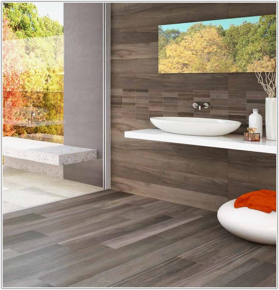 White Wood Look Ceramic Tile