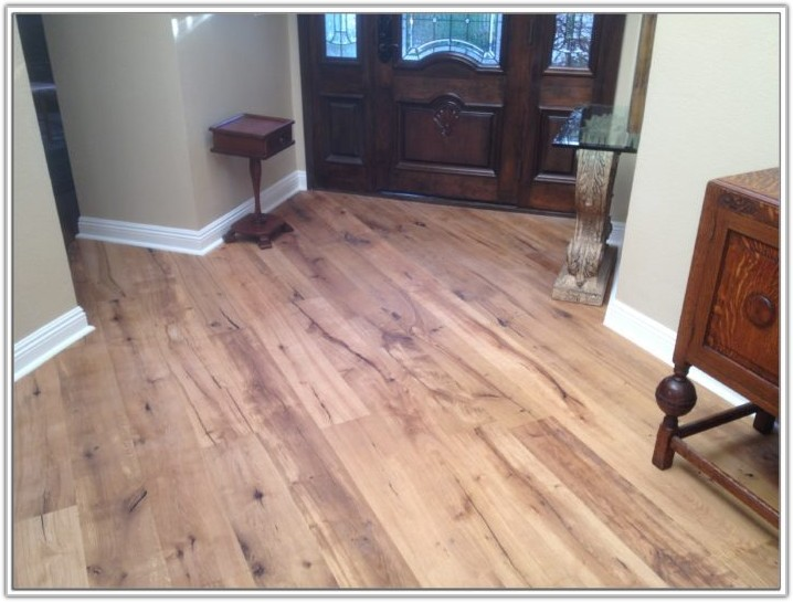 Wood And Ceramic Tile Floor Combination
