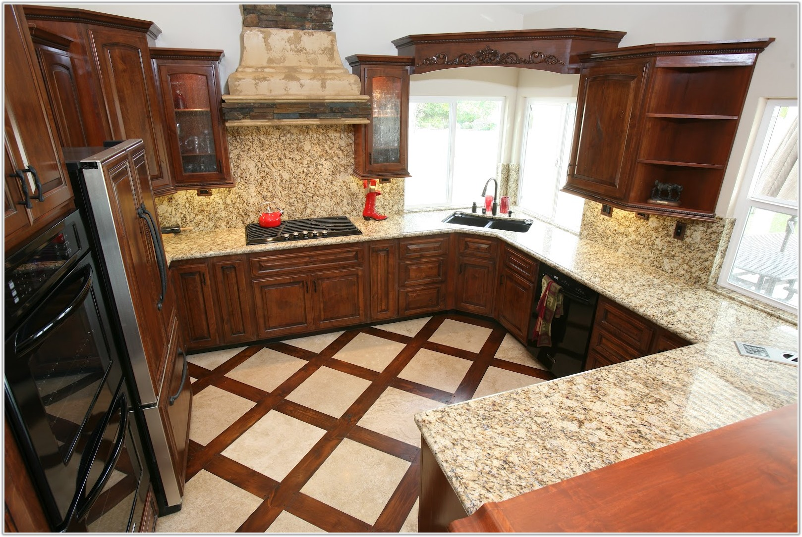 Wood And Tile Floor Combination Pictures