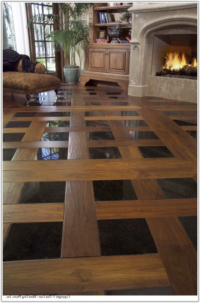 Wood And Tile Floor Patterns