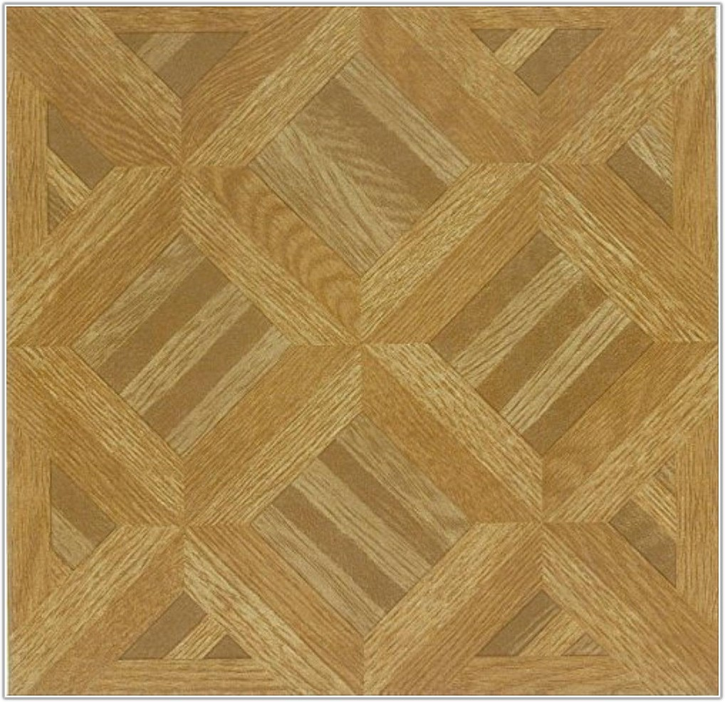 Wood Effect Self Adhesive Vinyl Floor Tiles