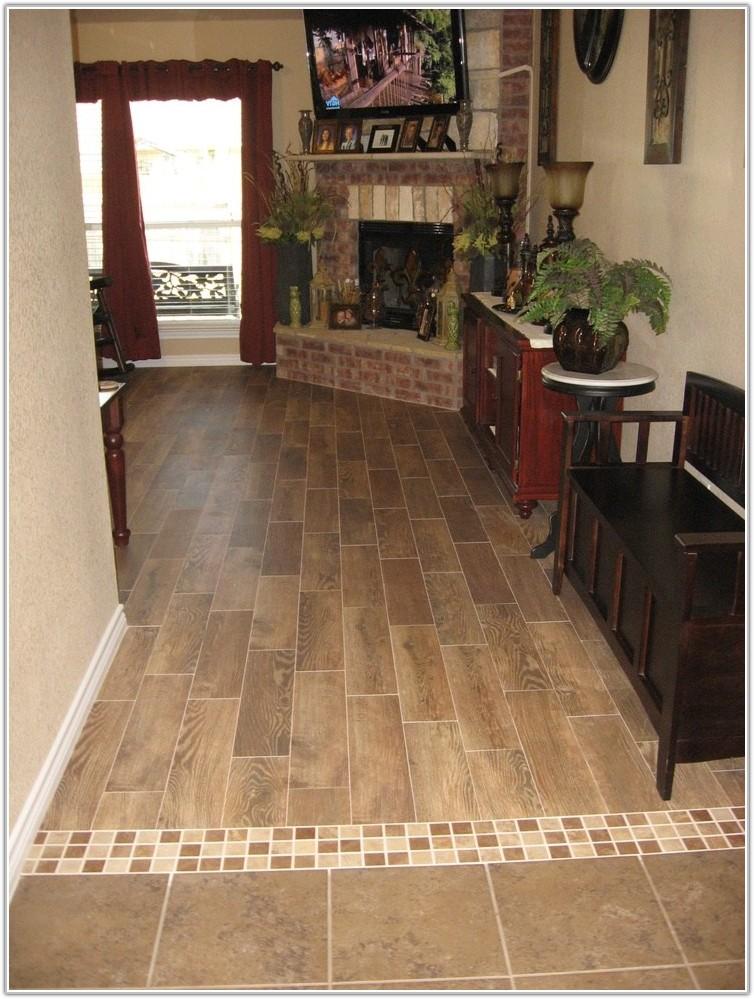 Wood Floor Ceramic Tile Transition
