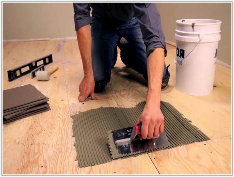Wood Floor Over Ceramic Tile