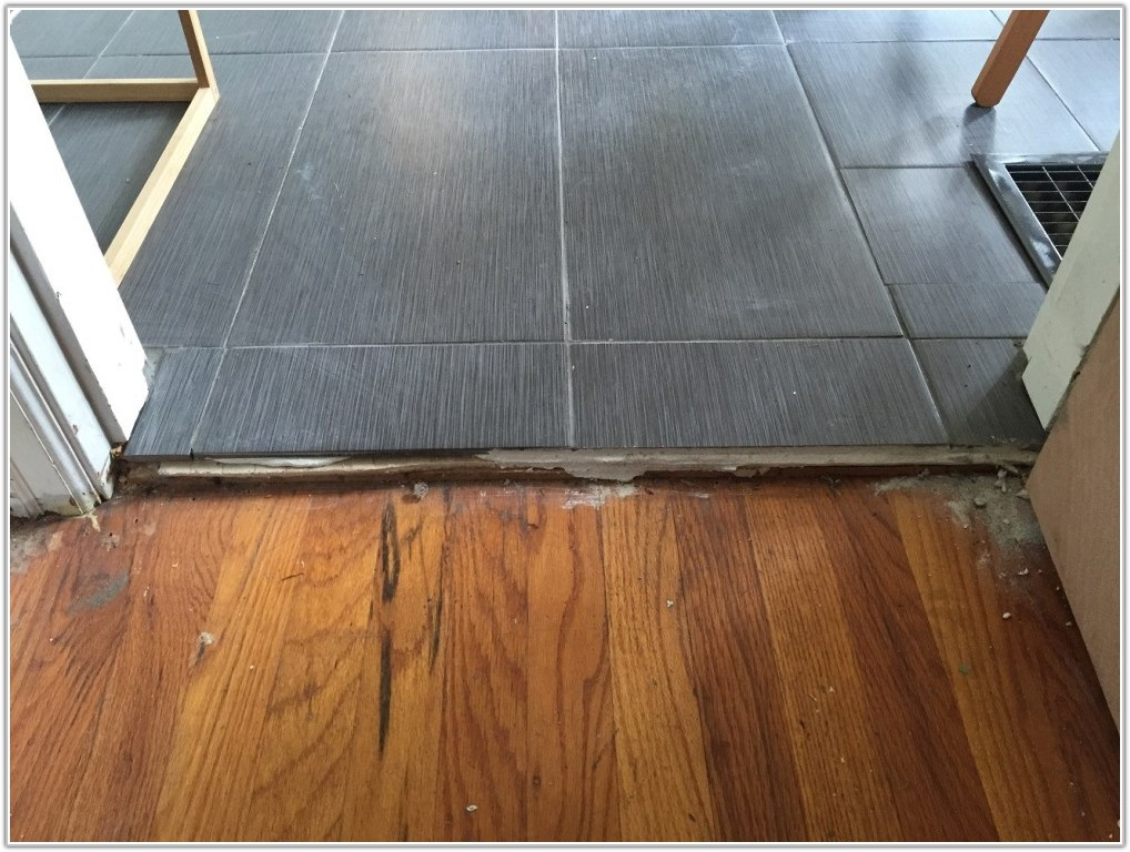 Wood Floor To Tile Transition