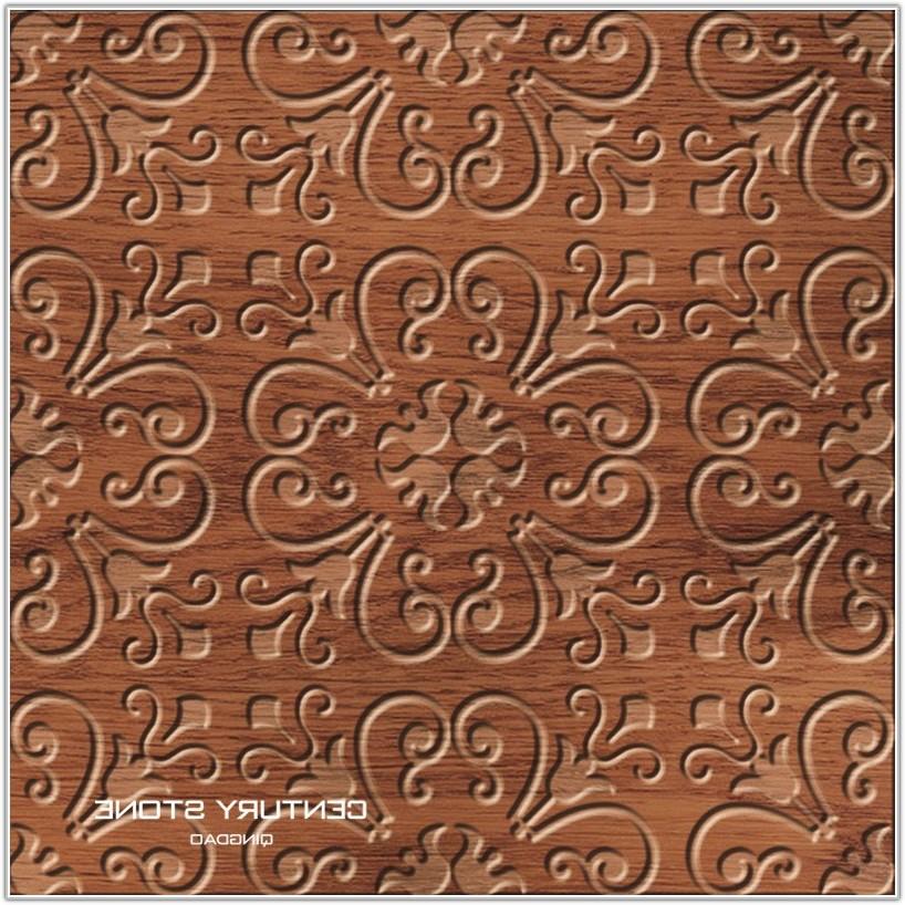 Wood Look Ceramic Tile Pattern
