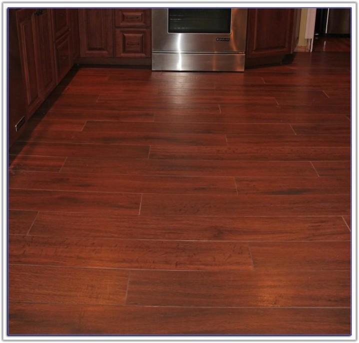 Wood Look Porcelain Plank Tile Floor