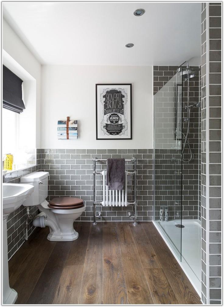 Wood Tile Floors In Bathroom