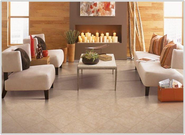 Wooden Tiles Design For Living Room
