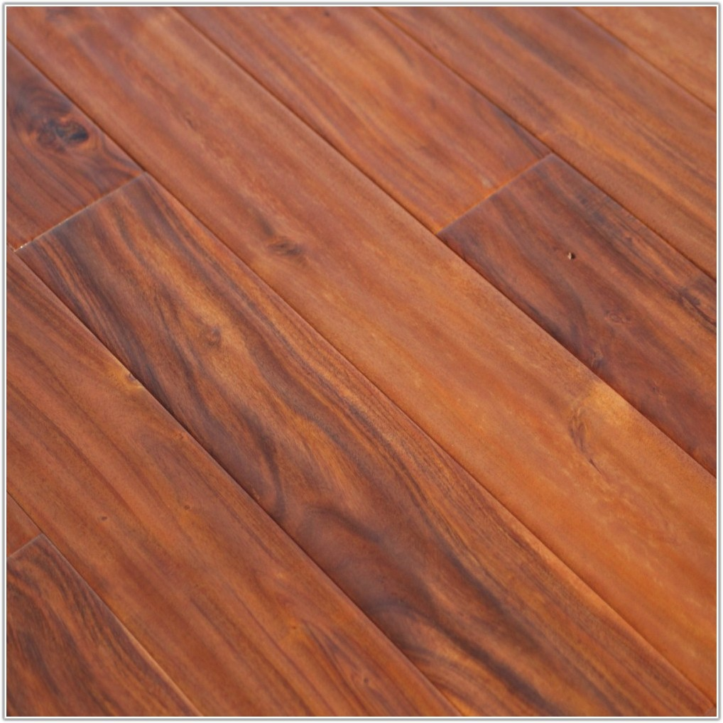 Acacia Hand Scraped Hardwood Flooring