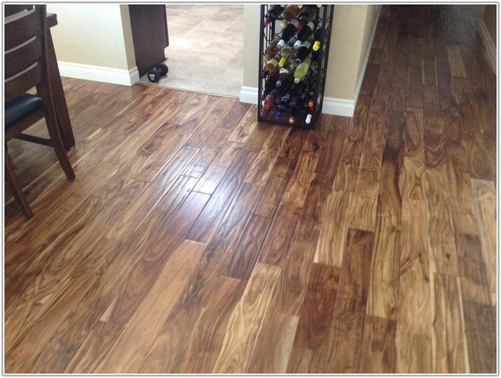 Acacia Natural Hand Scraped Hardwood Flooring