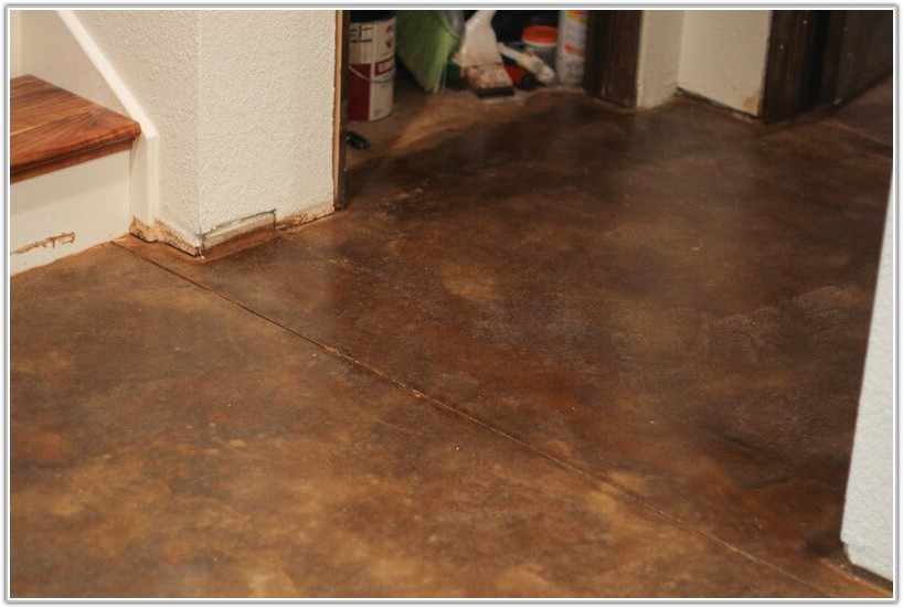 Acid Stain Concrete Floors