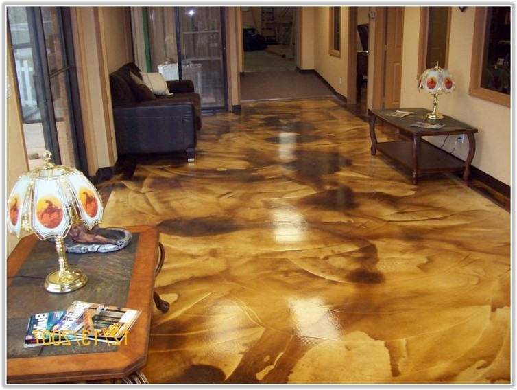 Acid Wash Stain Concrete Floors