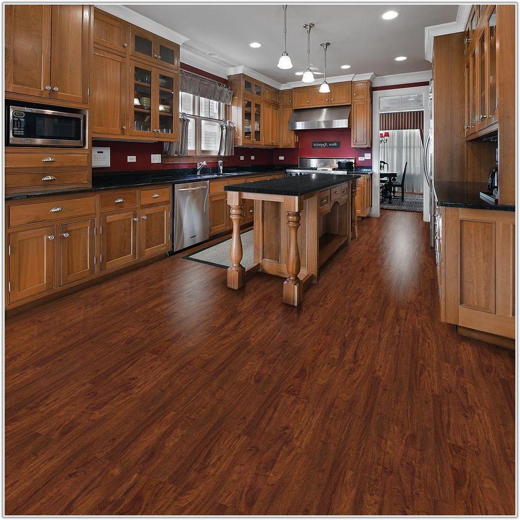 Allure Resilient Plank Flooring Cherry
