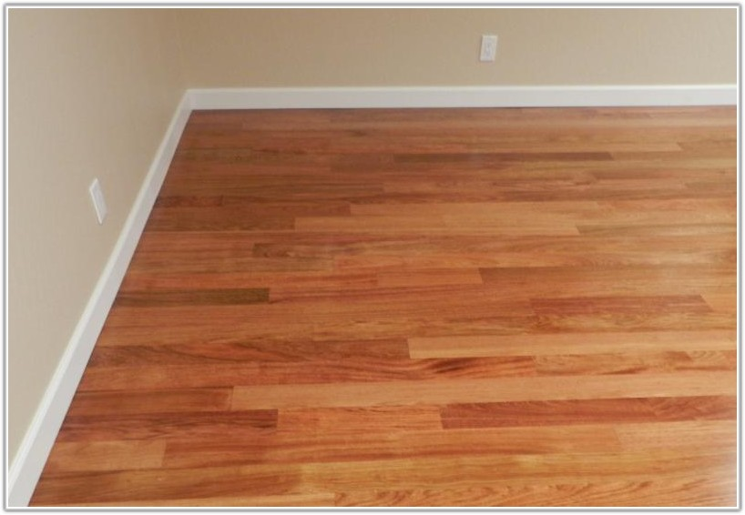 Brazilian Cherry Hardwood Flooring Unfinished