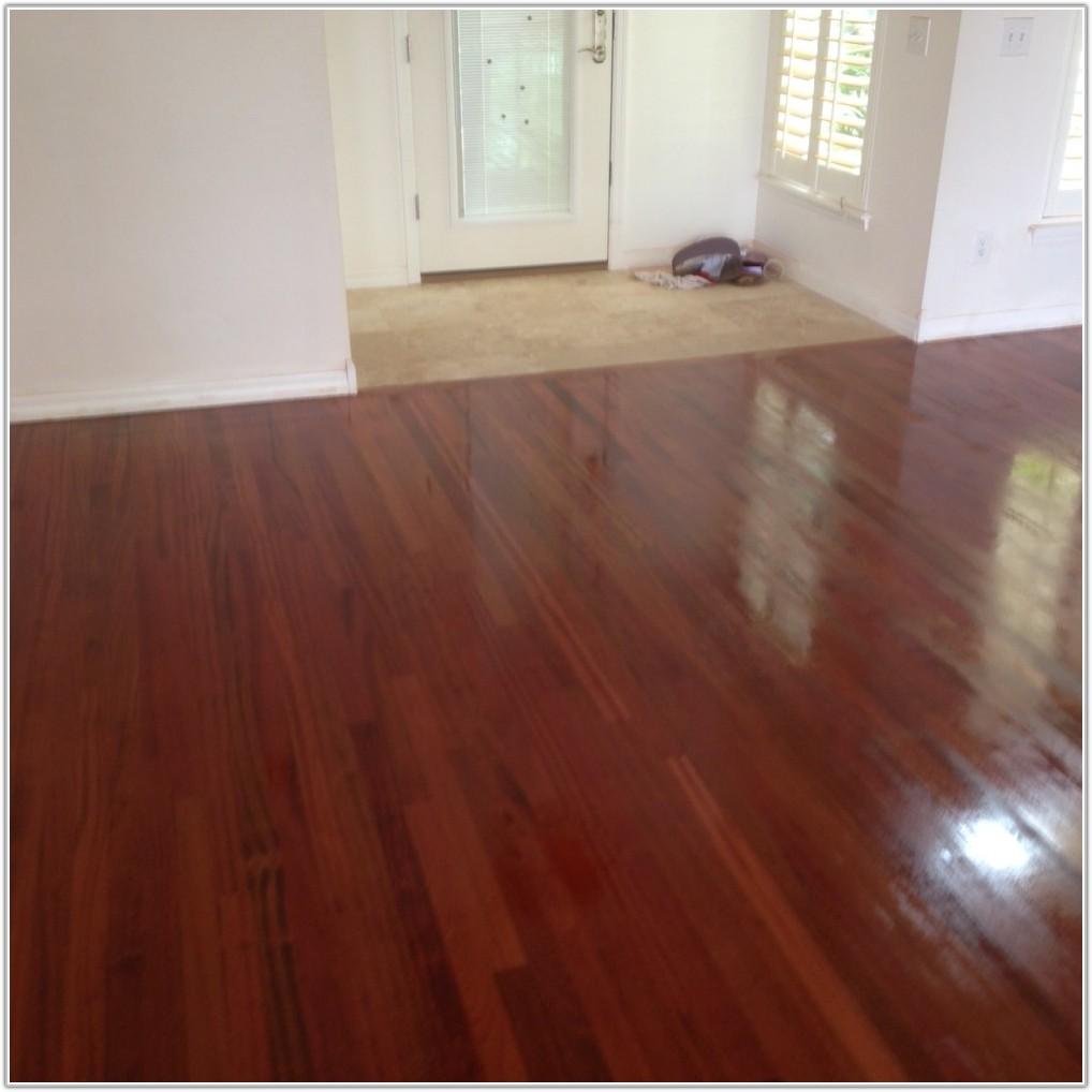 Brazilian Cherry Wood Floor