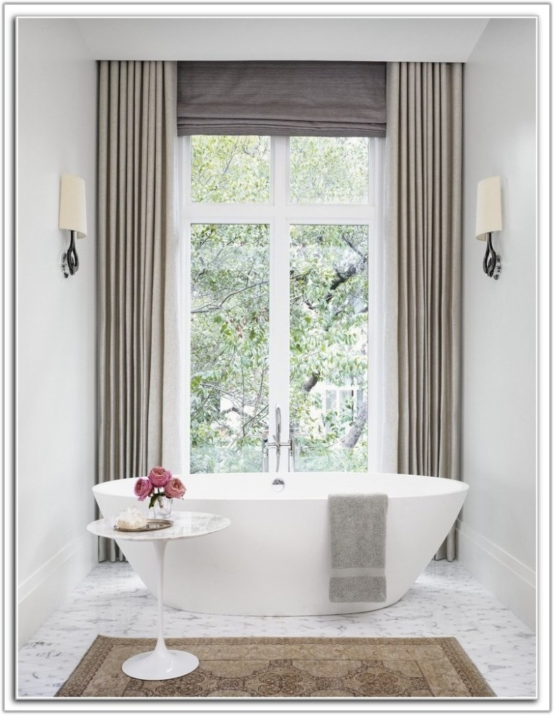Ceiling To Floor Drapes