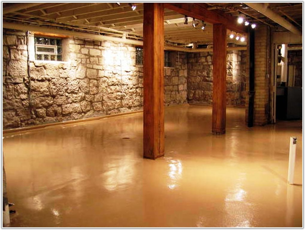 Cheap Flooring Ideas For Basement