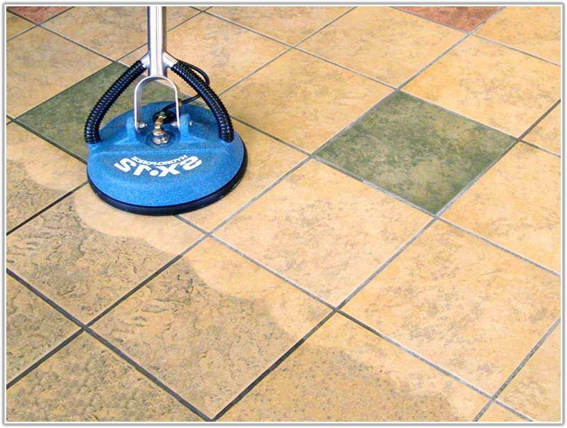 Cleaning Floor Tile Grout Lines