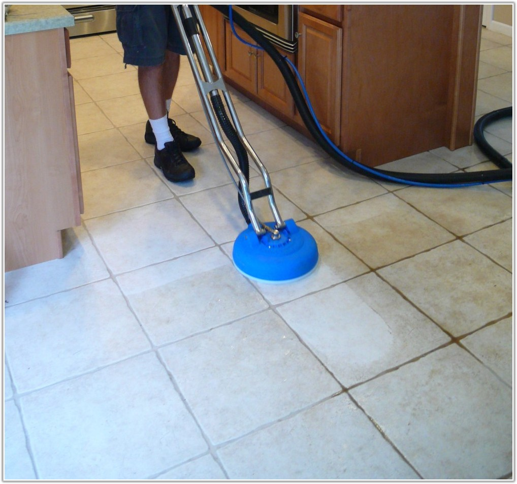 Cleaning Tile Floor Grout