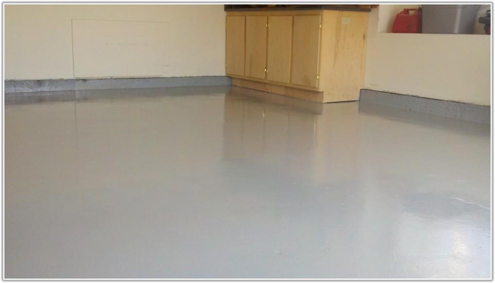 Clear Coat Over Epoxy Garage Floor