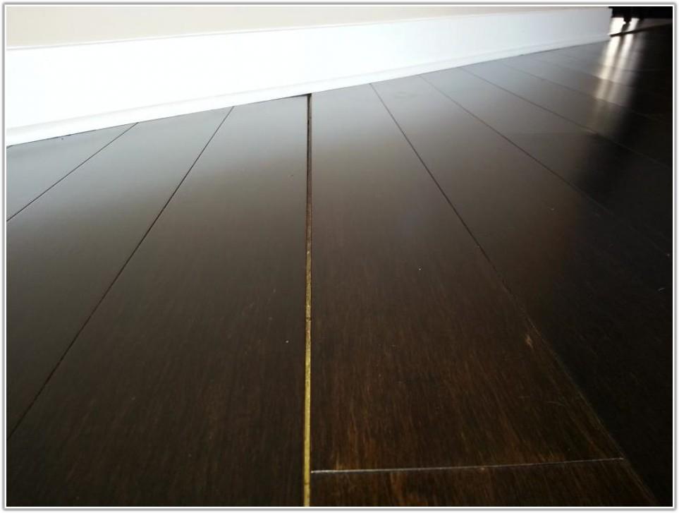 Click Lock Bamboo Flooring Problems
