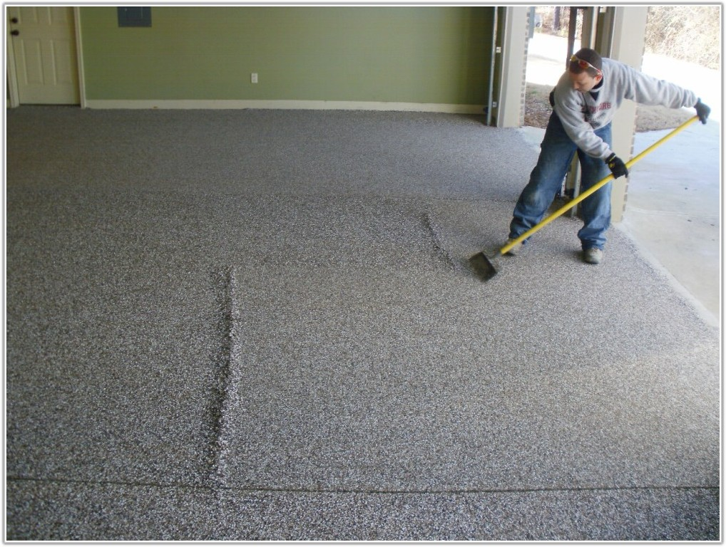 Concrete Floor Epoxy Coating