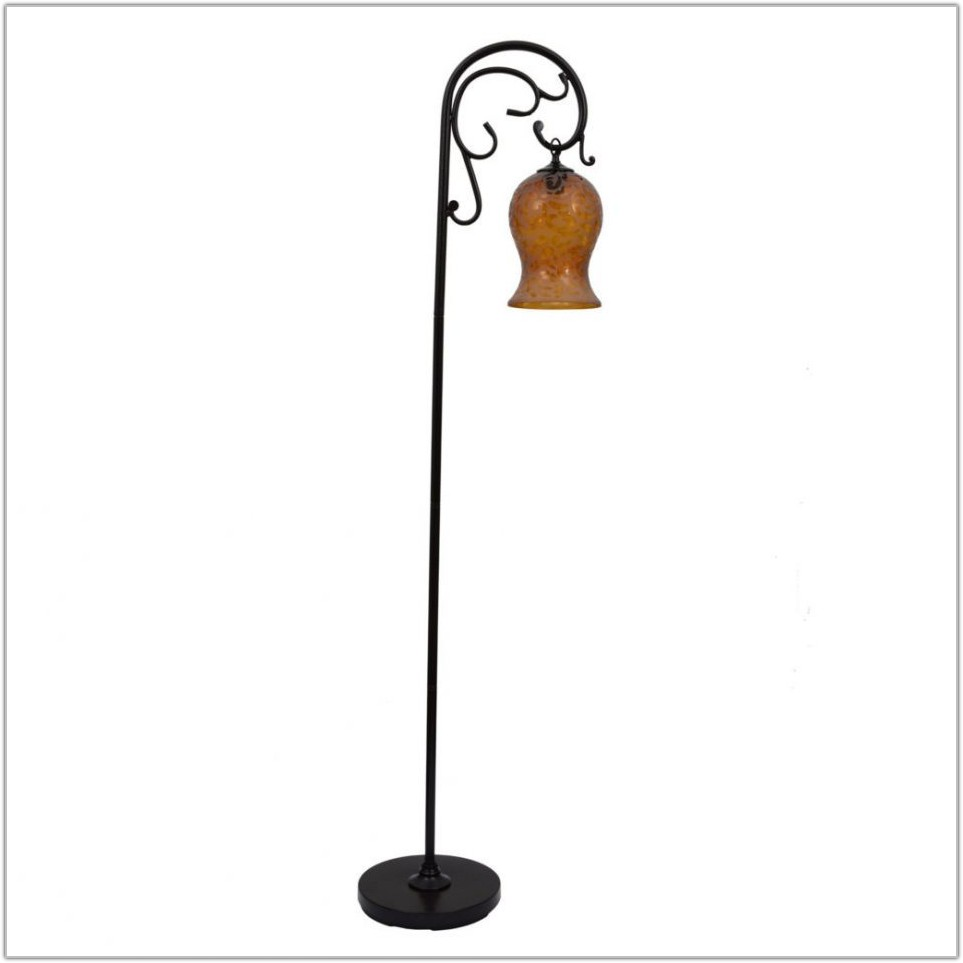 Country Floor Lamps Wrought Iron