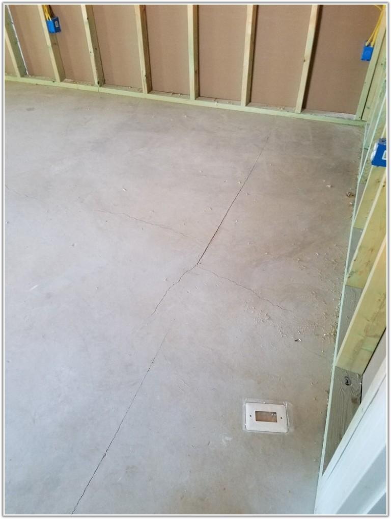 Cracks In Basement Floor New Home