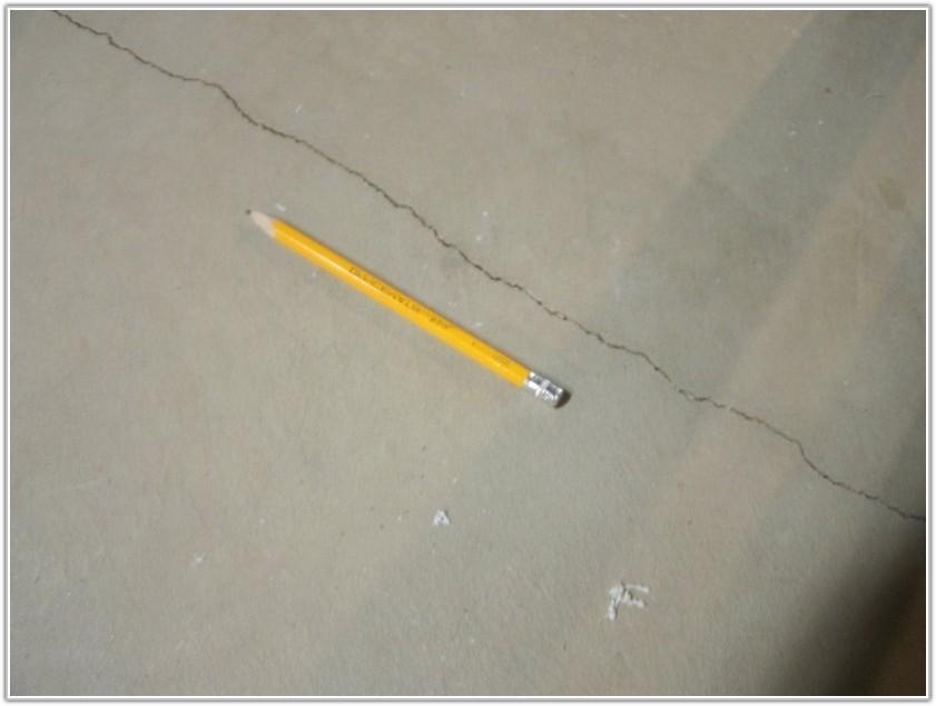 Cracks In Basement Floor