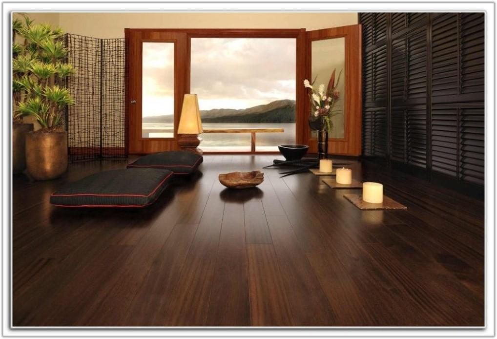 Dark Brown Laminate Wood Flooring