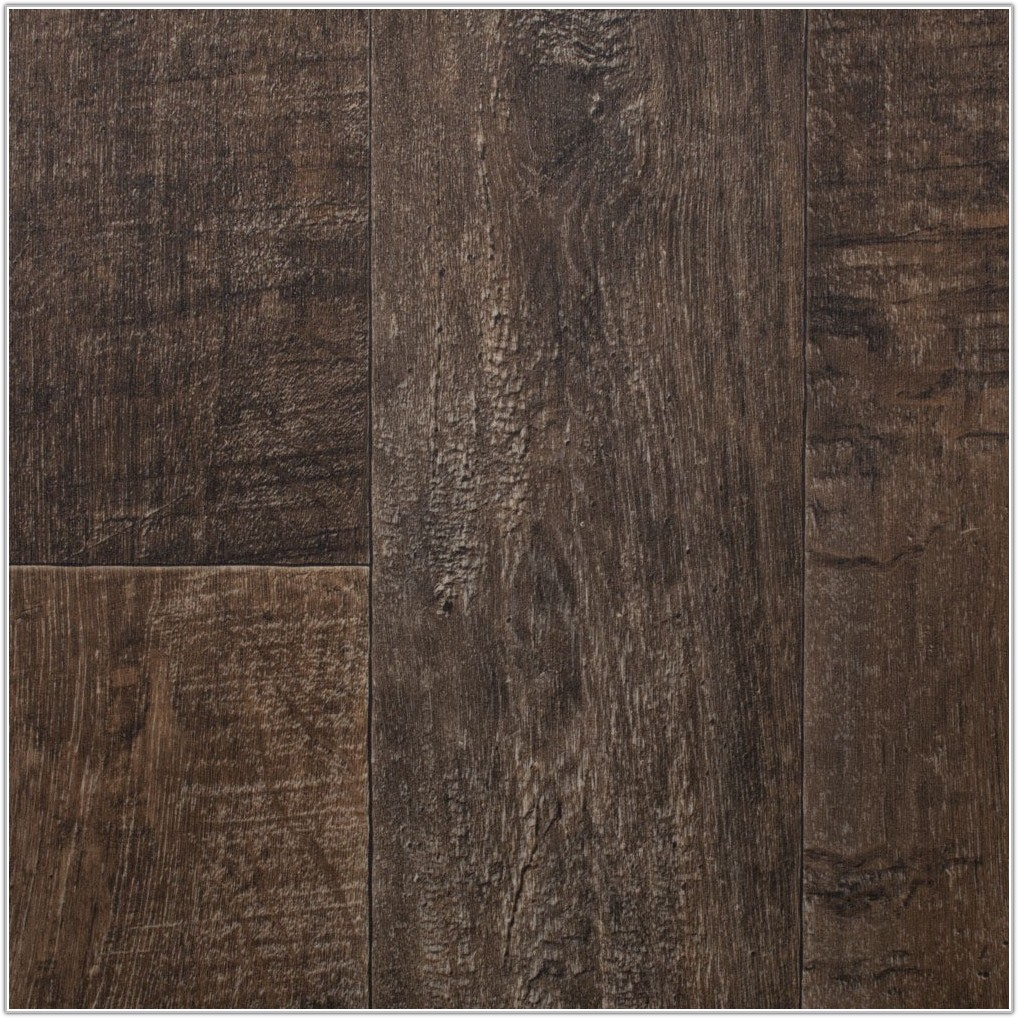 Dark Wood Vinyl Plank Flooring