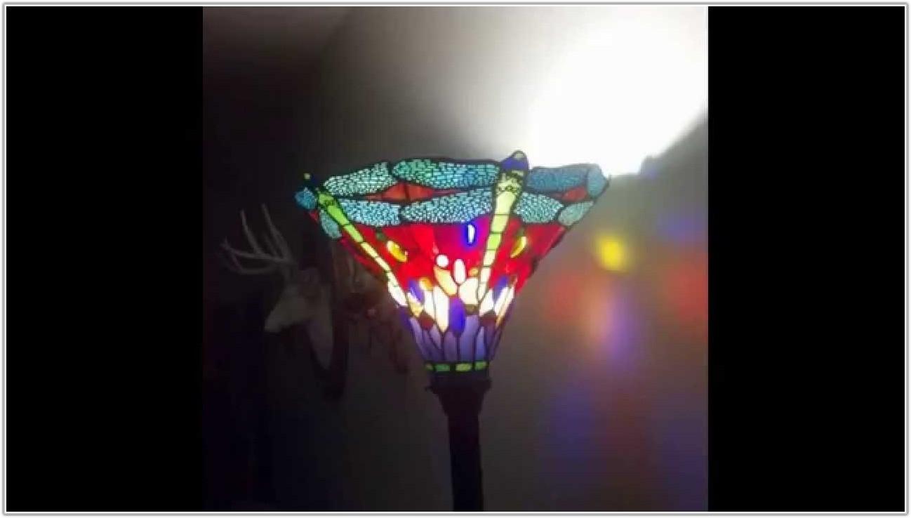 Dragonfly Tiffany Style Floor Lamp