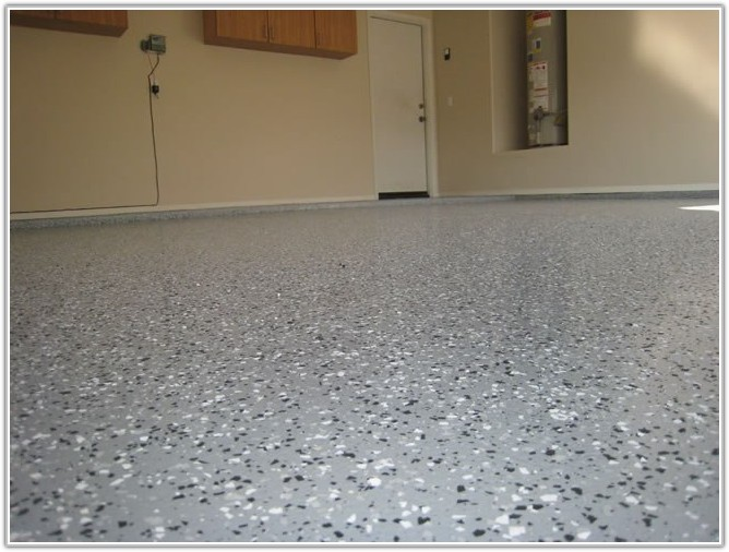 Epoxy Coating Garage Floor