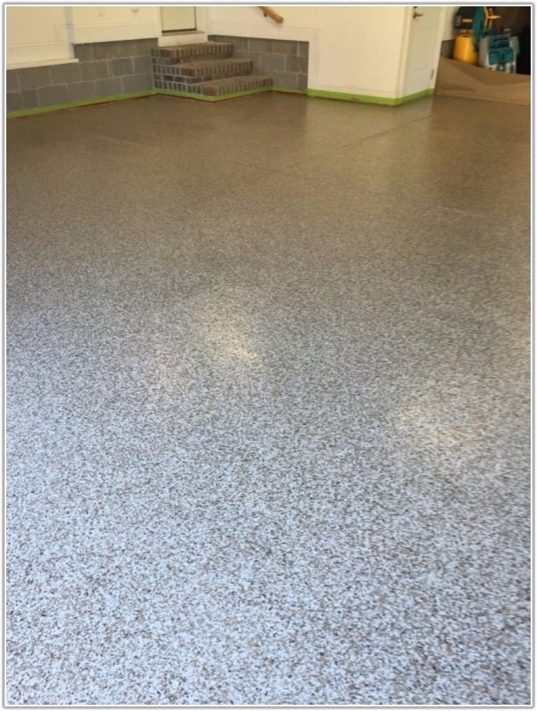 Epoxy Floor With Flakes