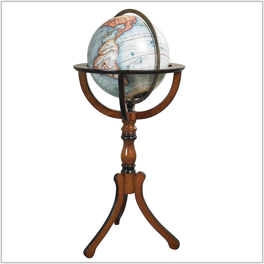 Floor Globe With Stand