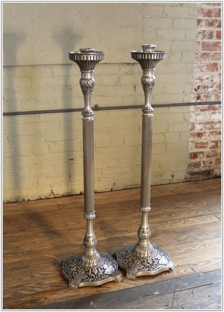 Floor Pillar Candle Stands