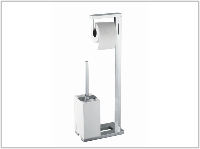Floor Standing Toilet Paper Holder