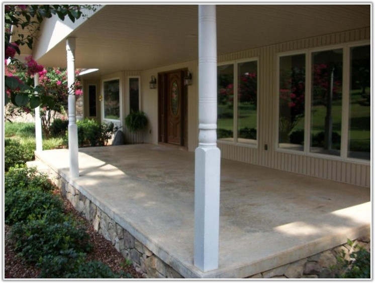Front Porch Floor Covering Ideas